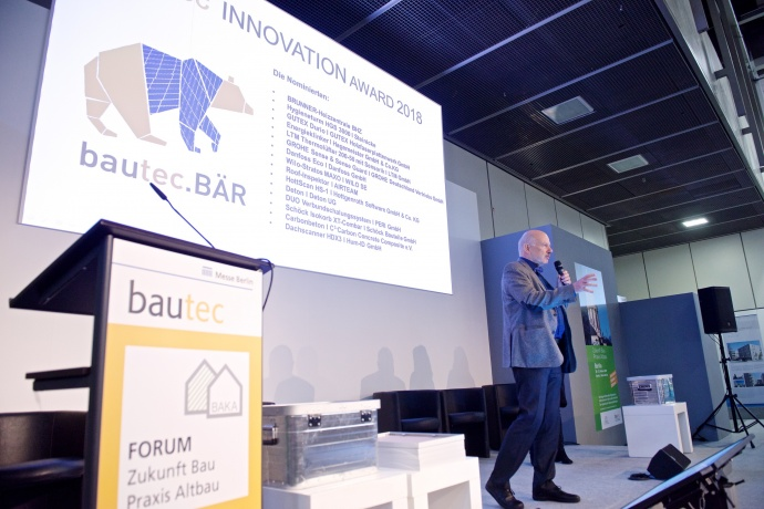 bautec.INNOVATION AWARD Preisverleihung