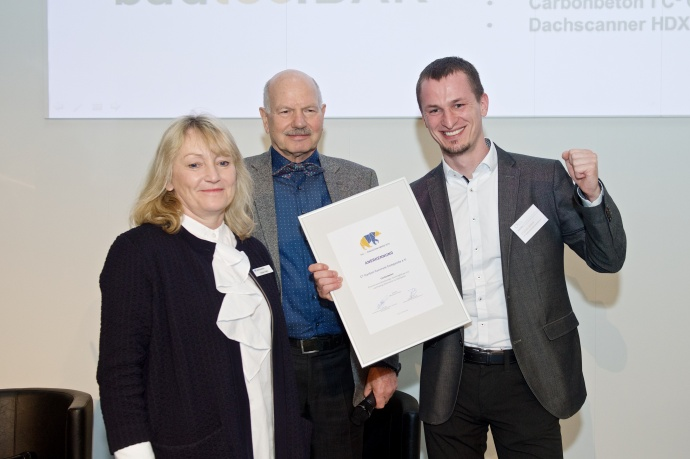 bautec.INNOVATION AWARD 2018 Anerkennung C³-Carbon Concrete Composite e.V.