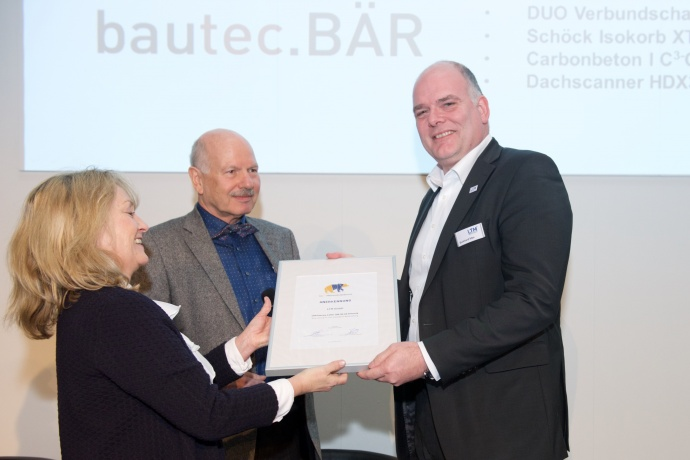 bautec.INNOVATION AWARD 2018 Anerkennung LTM GmbH
