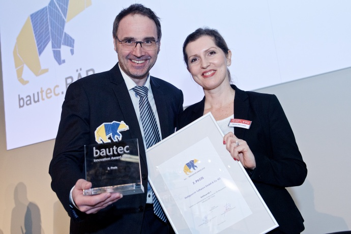 bautec.INNOVATION AWARD 2018 2. Preis Hottgenroth Software GmbH & Co.KG